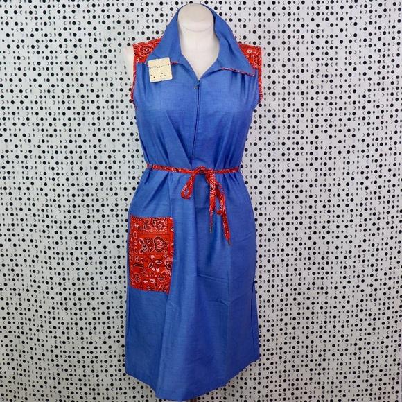 Vintage Dresses & Skirts - VINTAGE: Cowgirl Dress BNWT